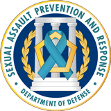 SAPRO Crest. Department of Defense: Sexual Assault Prevention and Response