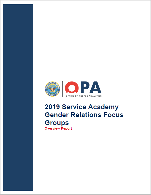 19-20_ OPA_Service_Academy_Gender_ Relations_Survey_Overview_Report.png